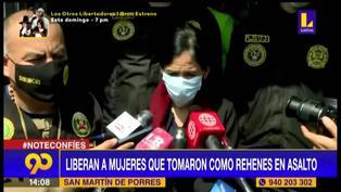 "Madre de niña tomada como rehén en asalto en SMP: ""Delincuentes fueron muy agresivos"""