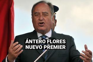 Ántero Flores-Araóz: Conoce el perfil político del nuevo primer ministro