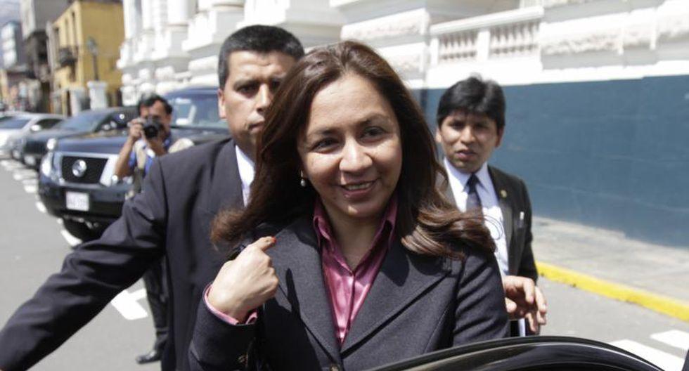 Encargan a Marisol Espinoza despacho presidencial por viaje de Humala