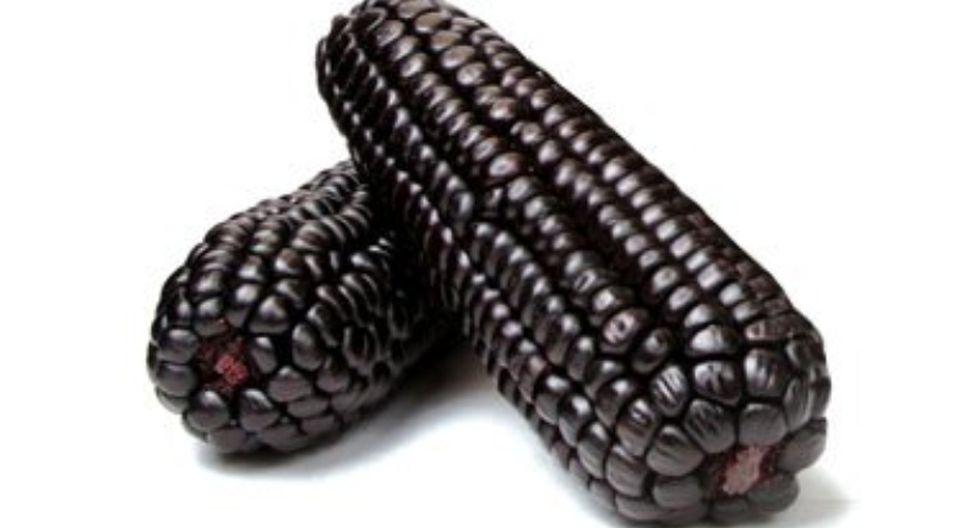 Supermaíz morado, uno de los alimentos que previene el cáncer y reduce el colesterol