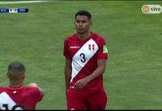 Perú vs. Bolivia: Marcos López remató a gol, pero el arquero boliviano le negó la posibilidad (VIDEO)