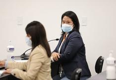 Poder Judicial rechaza prisión preventiva contra Keiko Fujimori