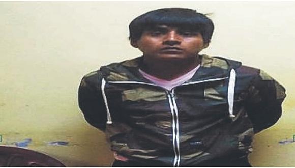 Hombre vendía drogas bajo la fachada de un puesto de raspadillas