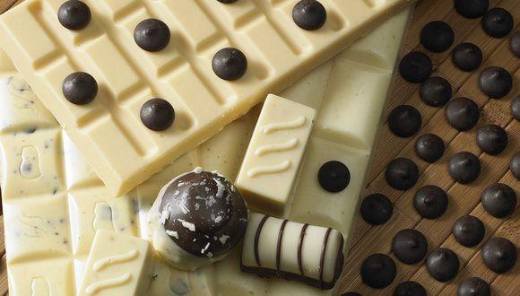 El chocolate blanco no es chocolate, solo tiene aroma a chocolate