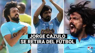 Sporting Cristal: Jorge Cazulo pone fin a su carrera como futbolista a sus 38 años