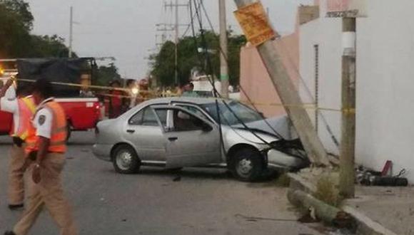 Al parece el exceso de velocidad habría ocasionado el accidente. (Foto: Referencial)