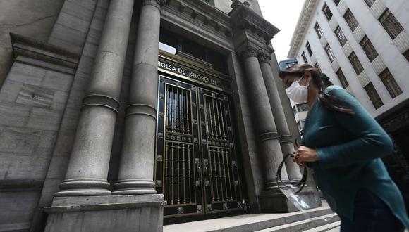 El índice S&P/BVL Perú Selectivo, donde se cotizan las acciones de mayor liquidez y capitalización, perdía un -0.1%. (Foto: Jesus Saucedo / GEC)