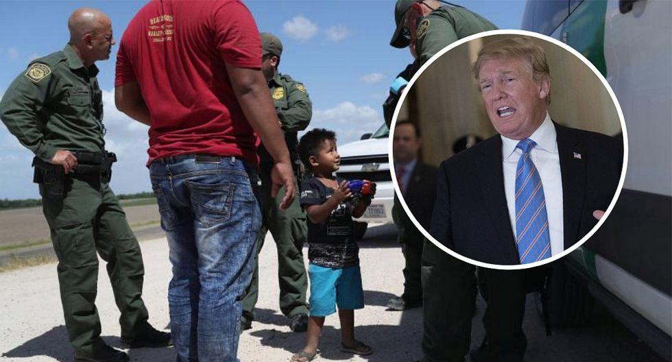 Donald Trump evalúa promulgar decreto para poner fin a separación de niños inmigrantes