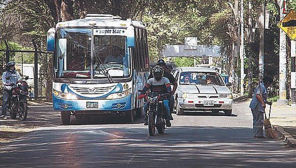 Empresas de transporte urbano piden subsidio para no paralizar el servicio