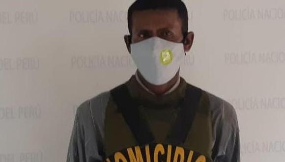 'Moreno' admitió su delito al momento de su captura ante la Policía pero adujo que estaba drogado.