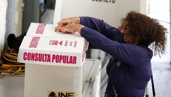 El 'Sí' se impuso con más del 9 % de los votos en la consulta popular sobre enjuiciar por corrupción a presidentes. (Foto:   ULISES RUIZ / AFP)