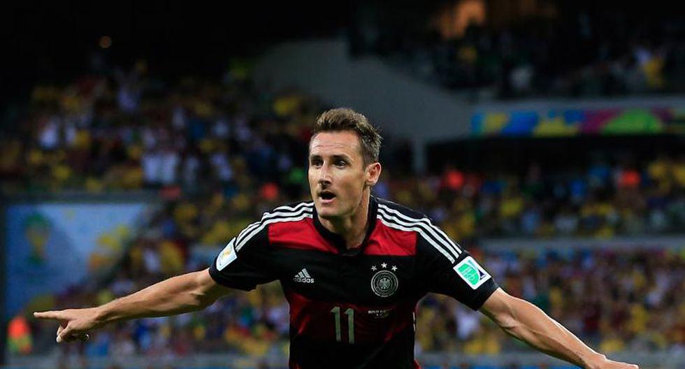 Miroslav Klose anunció el retiro de su selección