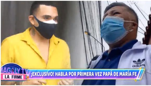 Padre de María Fe Saldaña revela que tuvo una riña con Josimar. (Foto: Captura ATV)