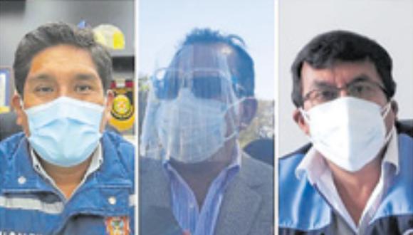 Luis Aguirre, Jaime Chávez y Nestor Chicaña dieron su recomendación para el nuevo presidente del país. (Foto: Correo)
