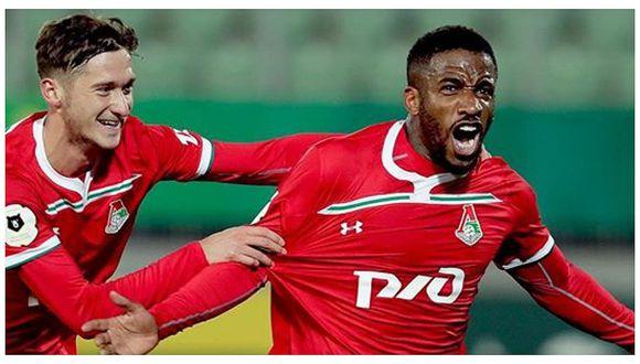Jefferson Farfán marcó golazo en la victoria del Lokomotiv sobre Anzhi (VIDEO)