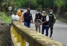 Rescatan cuerpo de joven huanuqueño lanzado desde un puente en Colombia