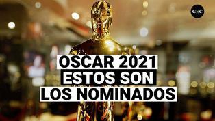 Estos son los nominados al Oscar 2021