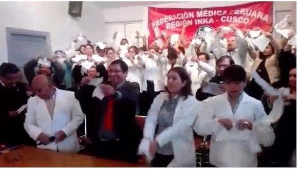 Minsa: Federación Médica del Cusco rompe acuerdo con el Gobierno (VIDEO)