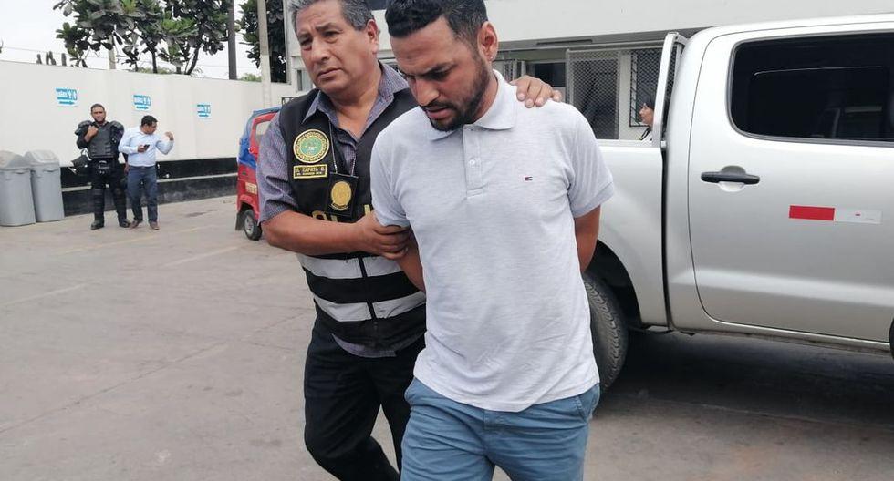 César Javier Marín Tirado fue detenido en la urbanización Sagitario y llevado a la Depincri de Surco. (Difusión)