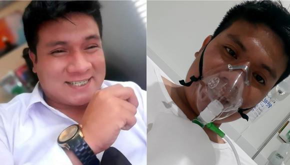 Luis Pérez Manrique antes y después de contagiarse de COVID-19 | Foto: Cortesía.
