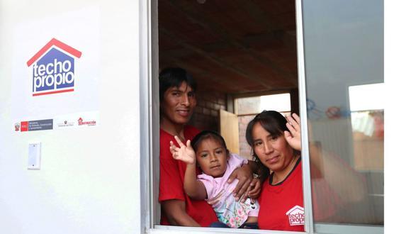 Para inscribirse en el programa Techo Propio del Fondo MiVivienda es necesario que los grupos familiares que deseen calificar al bono familiar habitacional no superen los S/3.715 (Foto: Andina)