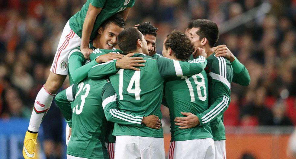 México venció 3-2 a Holanda en amistoso internacional
