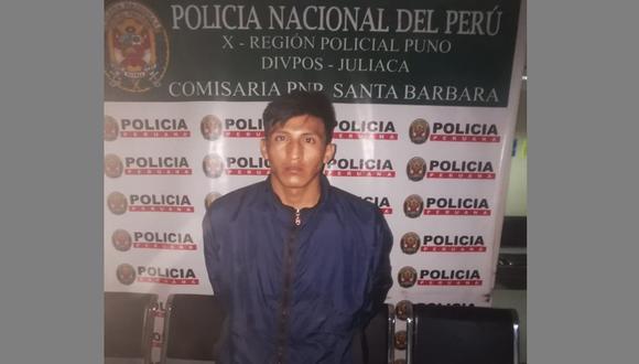 El sujeto fue trasladado hasta la dependencia policial. (Foto: Difusión)