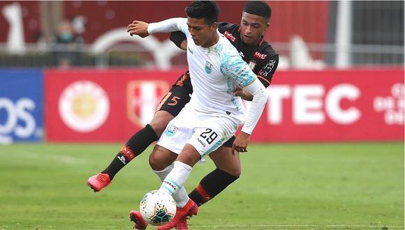 Deportivo Llacuabamba cae 1 a 3 ante Ayacucho FC en el reinicio de la Liga 1