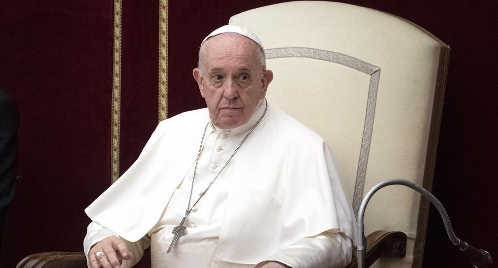 Imagen del papa Francisco. (Tiziana FABI / AFP).