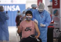 Jóvenes de 25 años a más serán vacunados desde este lunes 13 de setiembre