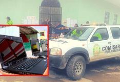 Piura: Roban 15 laptops de un colegio en el distrito de Huarmaca