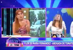 """Magaly Medina y abogada de Tomate Barraza discutieron en vivo: """"Toda acción tiene una respuesta"""" (VIDEO)"""