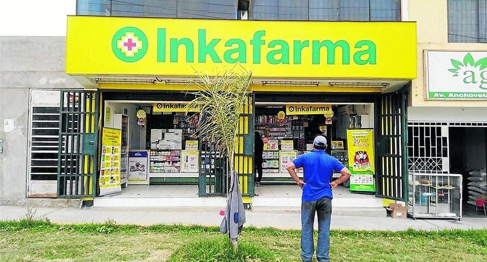 Hampones ingresan a farmacia y se llevan dinero de la venta del día