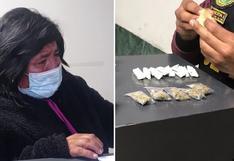 Mujer dormía en calle por dedicarse a la venta de droga