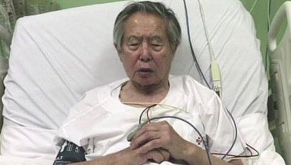 Expresidente Alberto Fujimori fue internado en clínica de Pueblo Libre