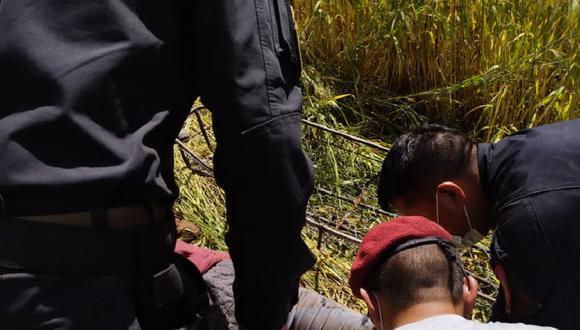Hallan cadáveres en afluentes de la región de Huancavelica.