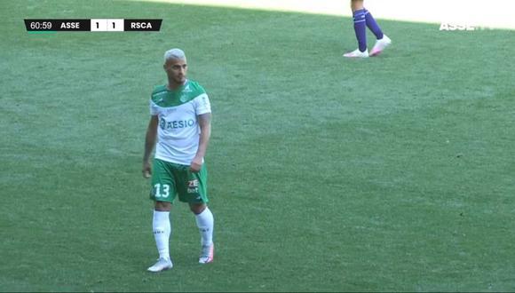 Miguel Trauco jugó este sábado con Saint-Étienne. (Foto: Captura ASSE)