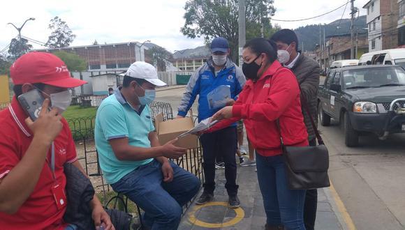 Cajamarca: entregan 40 mil protectores faciales para combatir el COVID-19 (Foto: Municipalidad Cajamarca).
