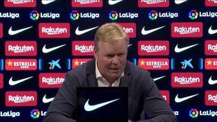 """Ronald Koeman tras empate ante el Granada: """"El Barcelona de hoy en día no es el de hace ocho años"""""""