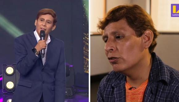 """Hugo Apaza volvió a """"Yo soy: grandes batallas"""" para retar a """"Dyango"""" (Jairo Tafur) en una revancha. (Foto: Captura Latina)"""