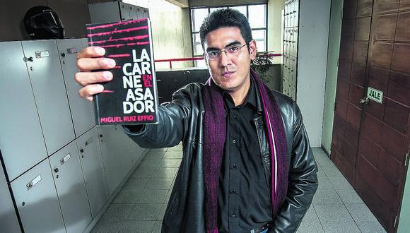 """Miguel Ruiz, escritor peruano: """"En este libro quité lo  accesorio y me quedé con la intensidad"""""""
