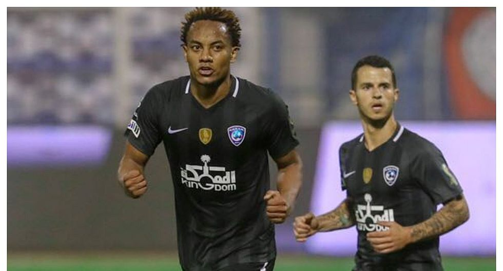 Con gol de André Carrillo el Al Hilal clasificó a las semifinales de la Copa del Rey de Campeones (VIDEO)