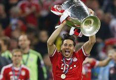 """Champions League felicitó a Claudio Pizarro """"por su gran carrera"""""""