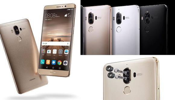 Conoce el nuevo Huawei Mate 9