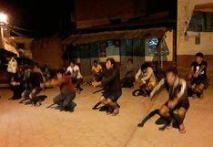 Así castigan a jóvenes que no acataban Estado de Emergencia en Sandia