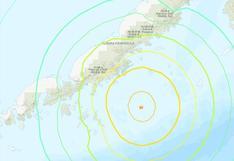 Estados Unidos: registraron sismo de magnitud 8,2 frente a las costas de la península de Alaska