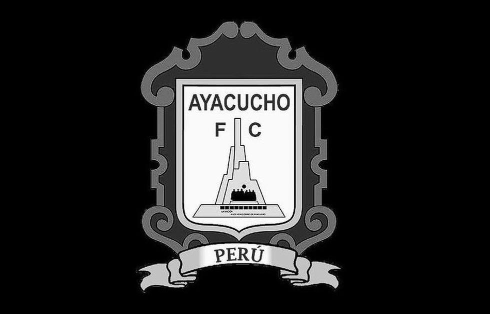 Ayacucho FC también visitió su logo de blanco y negro. (Foto: Ayacucho FC)