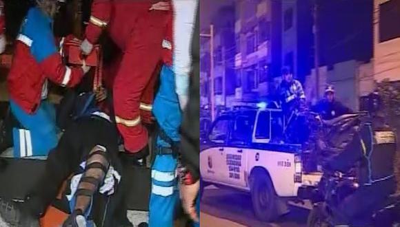 Racha de asaltos en Magdalena, Pueblo Libre, Jesús María y Lince deja un sereno herido (VIDEO)