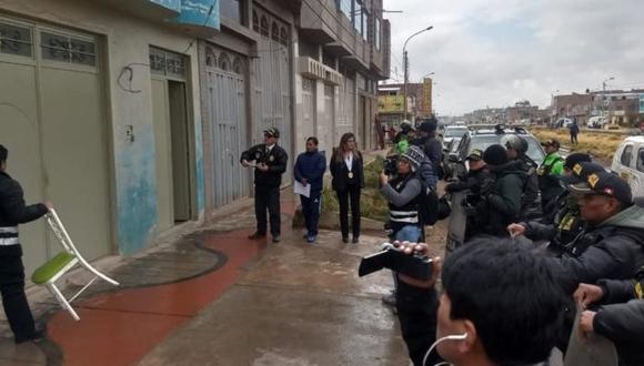 La disposición fue ejecutada por el Ministerio Público. (Foto: Difusión)