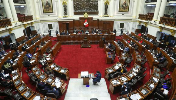Según el documento de citación, los portavoces podrán asistir en forma presencial en el hemiciclo o a través de la plataforma de sesiones virtuales. (Foto: Congreso de la República)